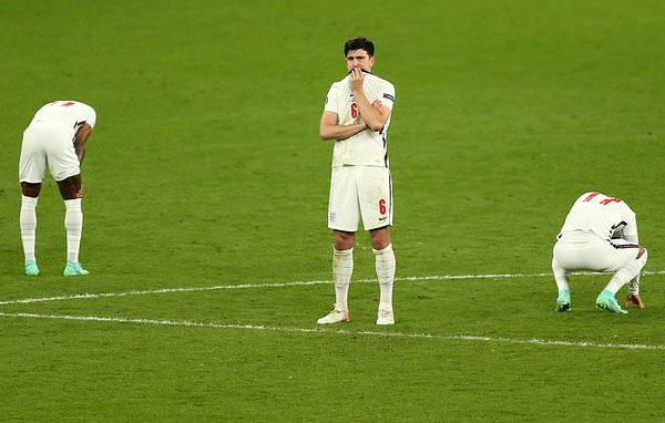 Maguire disappointed in England were beaten 2-3 by Italy